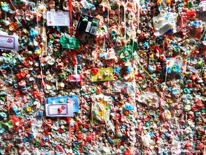 taste of seattle gum wall