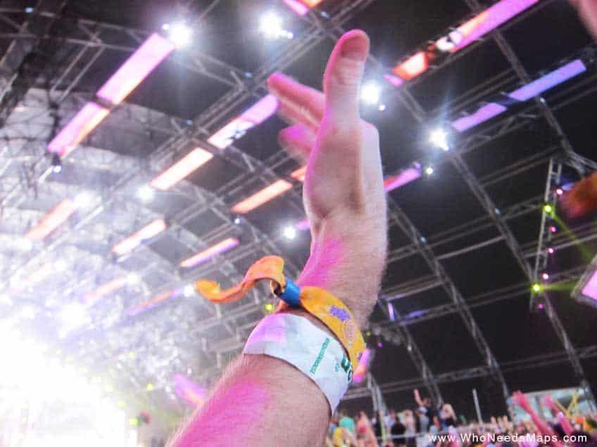 music festival survival guide - wristbands