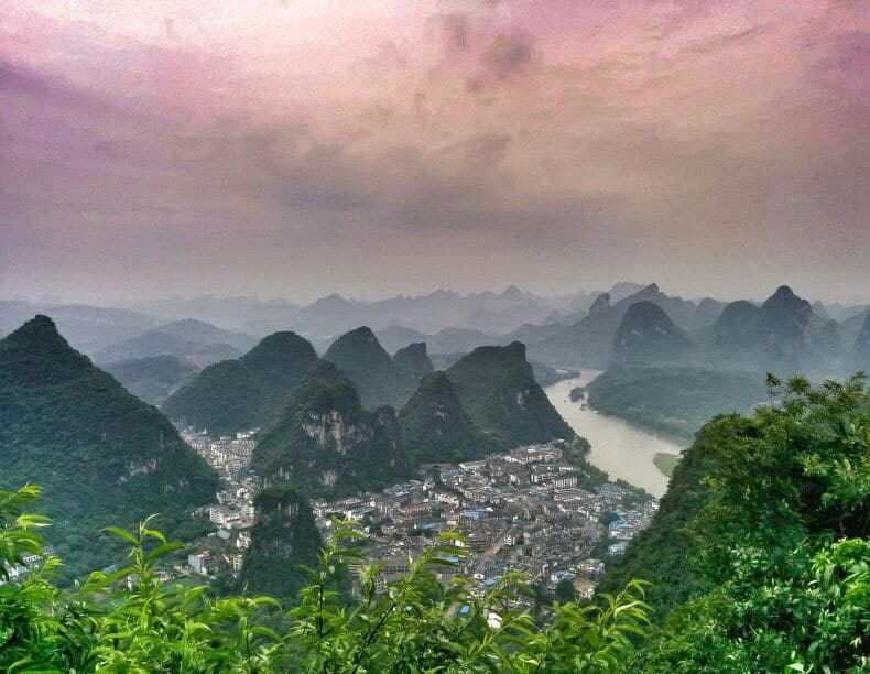 yangshuo-Best hikes in Asia