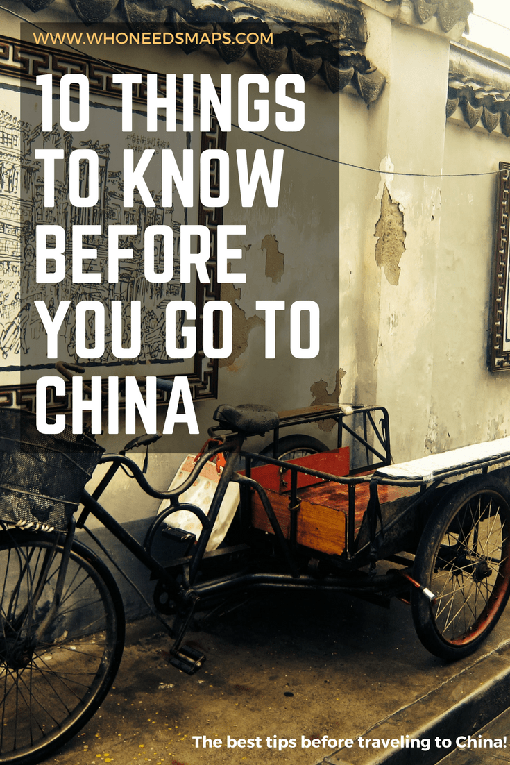10 Things you need to know before you travel to China