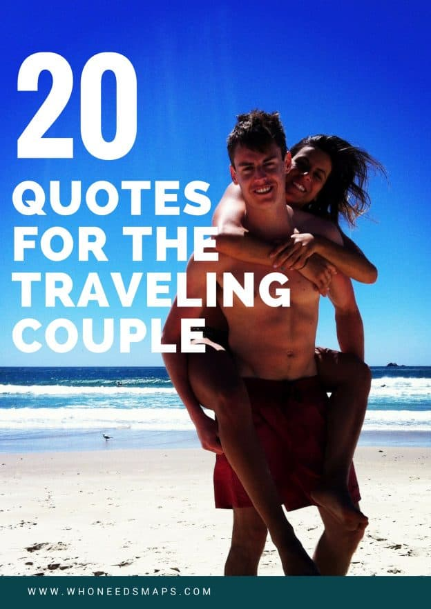 couple travel quotes banner