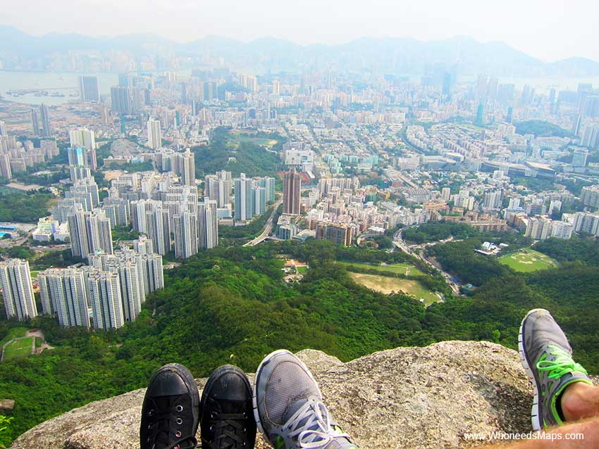 Hong Kong_Lions Back Hike_Fitness While Traveling