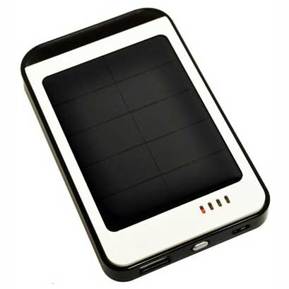 Opteka 6,000mAh Solar Power Bank