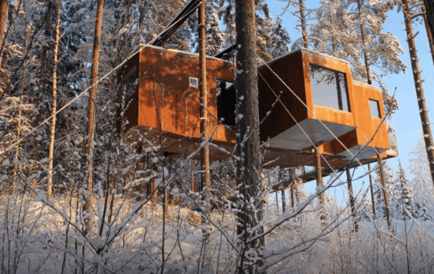 treehouse around the world treehotel
