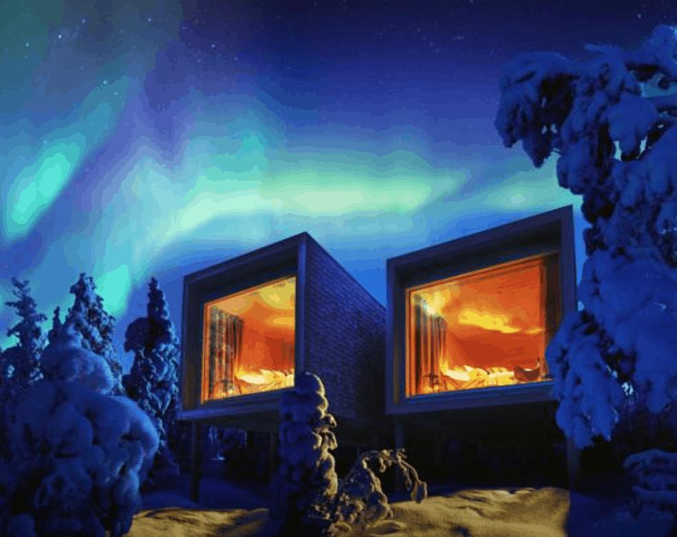 romantic treehouse hotel finland 2