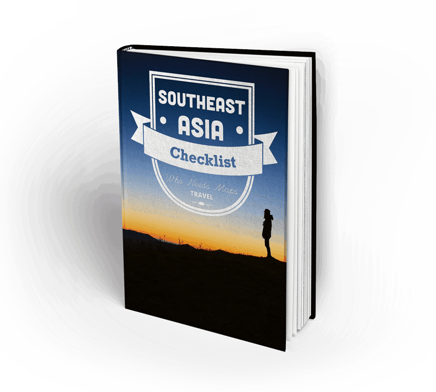 Southeast Asia Attraction Checklist Book