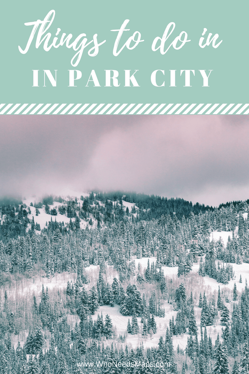 Things to do in park City Banner
