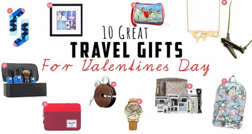 Travel gift ideas for valentines day who needs maps for Good gifts for a traveler