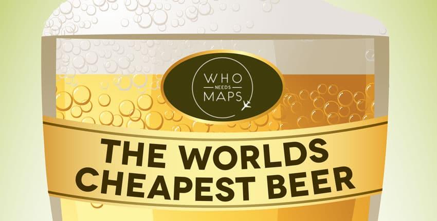 Beer Price Comparison Infographic