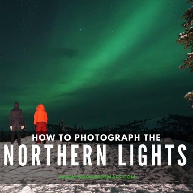Northern lights in alaska banner