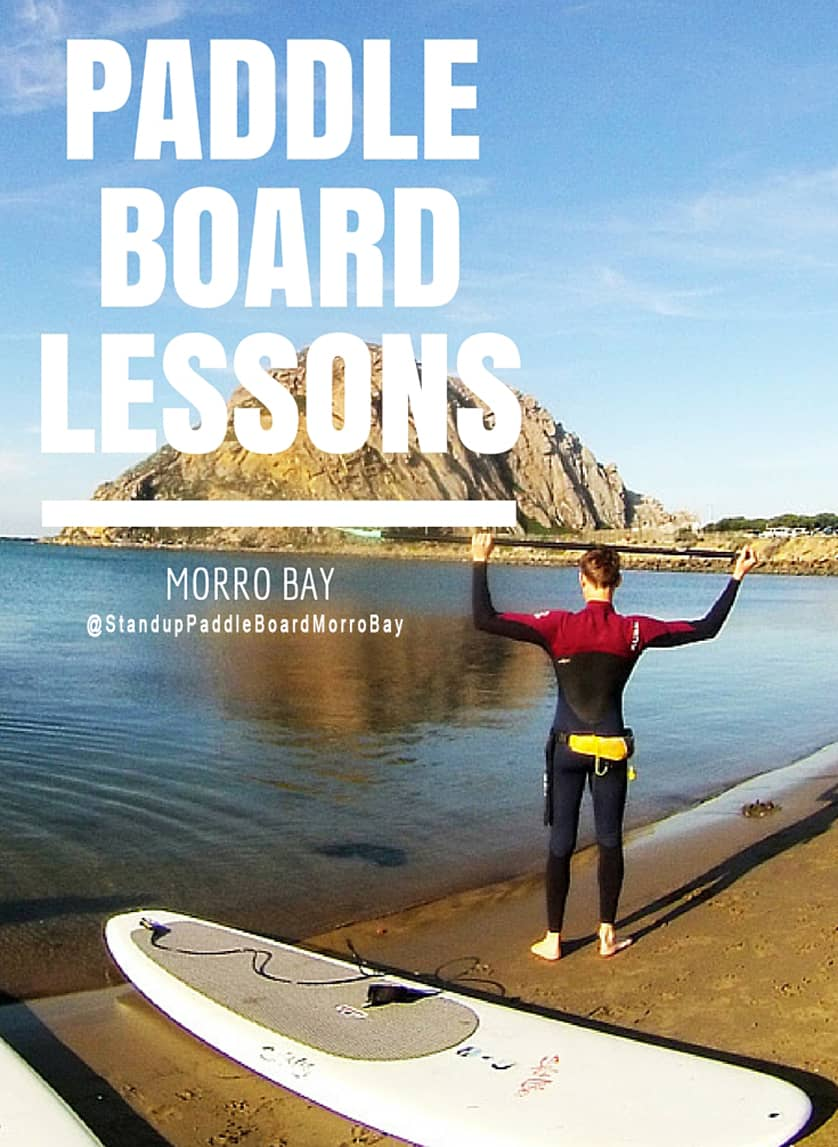 Stand Up Paddle Board Lessons in Morro Bay