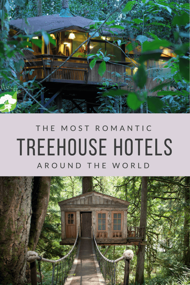romantic treehouse hotel banner